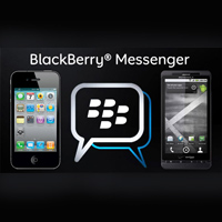 Blackberry Messenger untuk Android dan Iphone